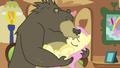 Bear kisses Fluttershy S3E13.png