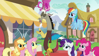 "Discord ""every single detail of our previous encounter"" S5E22"