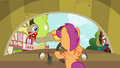 Dr. Hooves jumping across the windscreen S3E04.png