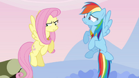 "Fluttershy the ""silly, gullible fool"" S03E10"