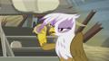 Gilda holding a scone S5E8.png