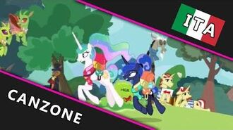 ITALIAN My Little Pony Canzone Lotta Little Things +Ripresa HD