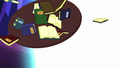Library books and table blown away by magic S6E21.png