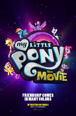 My Little Pony The Movie teaser poster