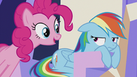 "Pinkie ""come on, Dashie!"" S5E8"