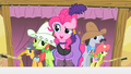 Pinkie Pie and crowd S1E21.png