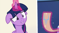 Princess Twilight grinning nervously EGSB