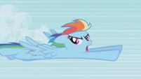 Rainbow Dash --I said not now!-- S1E05