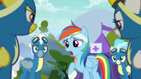 Rainbow Dash --you guys were right to call me-- S6E7