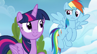 Rainbow Dash confused --we can--- S6E24