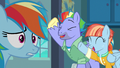 Rainbow Dash overwhelmed by her parents' support S7E7.png