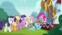 Rainbow begs Pinkie not to play anymore S8E18