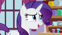 Rarity 'I would be happy to suggest' S4E18