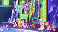 Rarity -dispelled him into the ether!- S9E1