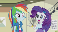Rarity -whatever made you think of Pinkie- EG2