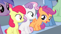 Scootaloo -but he wouldn't listen- S4E24