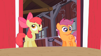 Scootaloo wide eyes S2E12