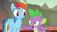"Spike ""I beat you down the ridge"" S7E25"