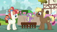 "Spike ""you two should sit together"" S7E15"