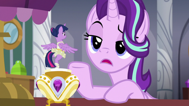 """File:Starlight Glimmer """"I think you might be biased"""" S7E10.png"""