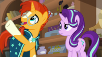 "Sunburst ""or Pegasus flight"" S7E24"