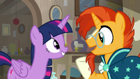 "Sunburst ""who doesn't like antiquing"" S7E24"