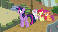 Twilight and Crusaders hear Terramar S8E6