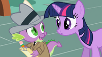 Twilight you doin write S2E8