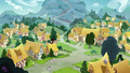 Wide view of Ponyville S8E3.png
