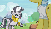"Zecora ""the fire that he breathes"" S9E18"