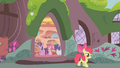 Apple Bloom leaving the library S1E09.png