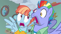Bow and Windy in slack-jawed surprise S7E7