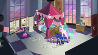 Celestia and Luna find Twilight's room clean S9E17