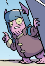Comic issue 87 Lumpy