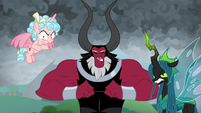 Cozy, Tirek, and Chrysalis look sadistic S9E25