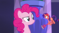 Devil Rarity appears before Pinkie Pie S6E9