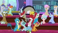 Discord appears between the students S8E15