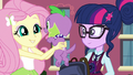 Fluttershy picks up Spike EG3.png
