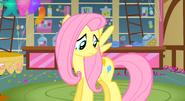 Fluttershy with Pinkie Pie's Cutie Mark S3E13