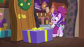 Large gift box drops in front of Snowfall Frost S6E8.png