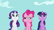 Pinkie Pie feeling sick with neck twisted S02E16