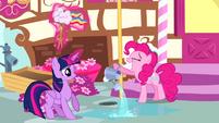 Pinkie Pie grinning S4E12