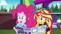 "Pinkie Pie sees a ""secondary objective"" EGSBP"