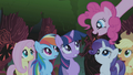 Pinkie Pie singing Everfree Forest 1 S1E02.png