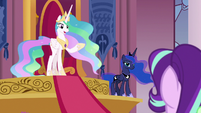 Princess Celestia -there's nothing wrong here- S7E10