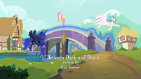 Princess Luna removing the bridge S9E13
