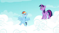 "Rainbow ""the Wonderbolts history test"" S4E21"
