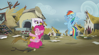 "Rainbow Dash ""just try and stop us!"" S5E8"