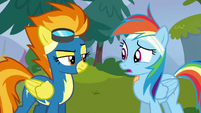Rainbow Dash --still on the team-- S6E7