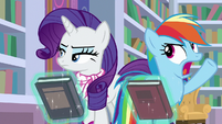 Rainbow Dash exasperated -fine!- S8E17